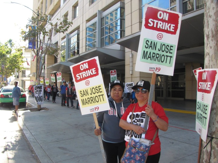 marriot hotel san jose strike 10-18