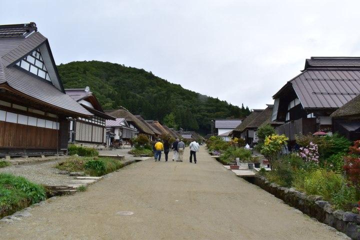 ouchi-juku fukushima prefecture