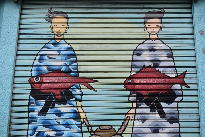 mural shimokitazawa